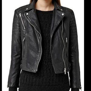 All Saints Jackets & Coats - All Saints Leather Jacket size 0